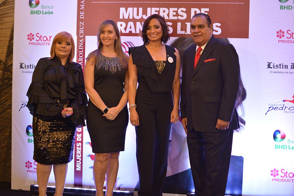 Foto Principal- Rommy Grullon, Gabriela Marine, Carolina Cruz de Martinez y Miguel Franjul.