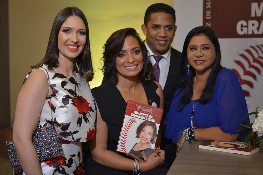 Massiel Dotel, Carolina Cruz de Martinez, Octavio Dotel y Adelaida Hernandez