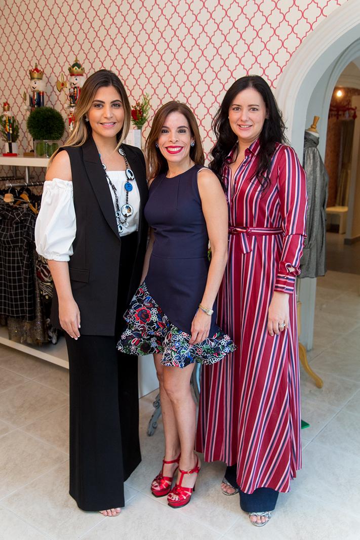 1. Lia Pellerano, Laura Fernández, Viviana Cabral