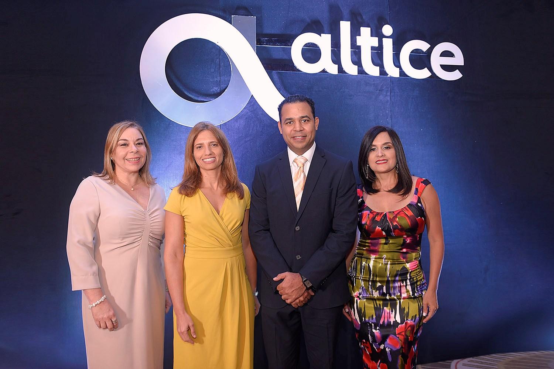 1. Principal. Tammy Reynoso, Ana Figueiredo, Rafael Pichardo y Liza Arzeno