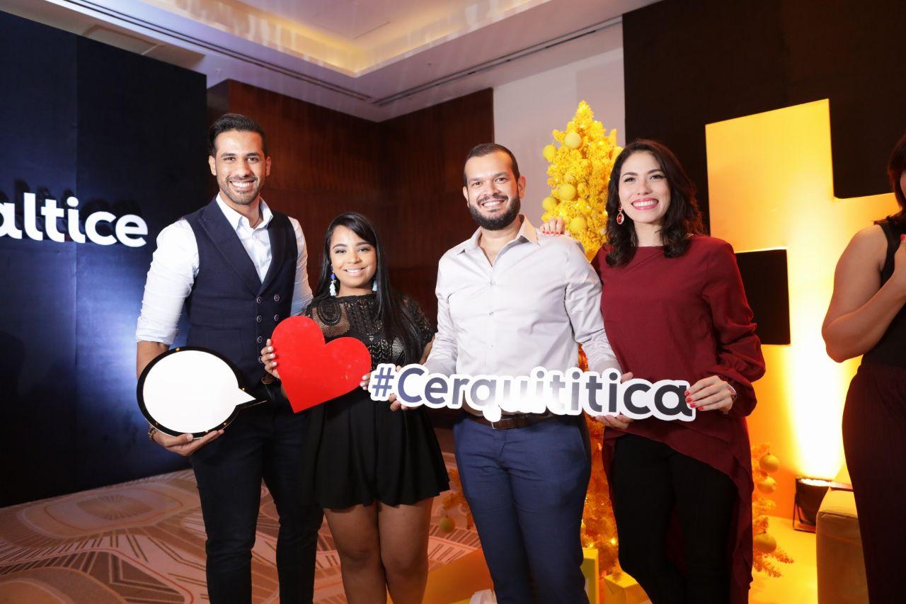 10. Robert Llaverias, Lissa Luna, Iohan Fuerte y Lilly Lopez