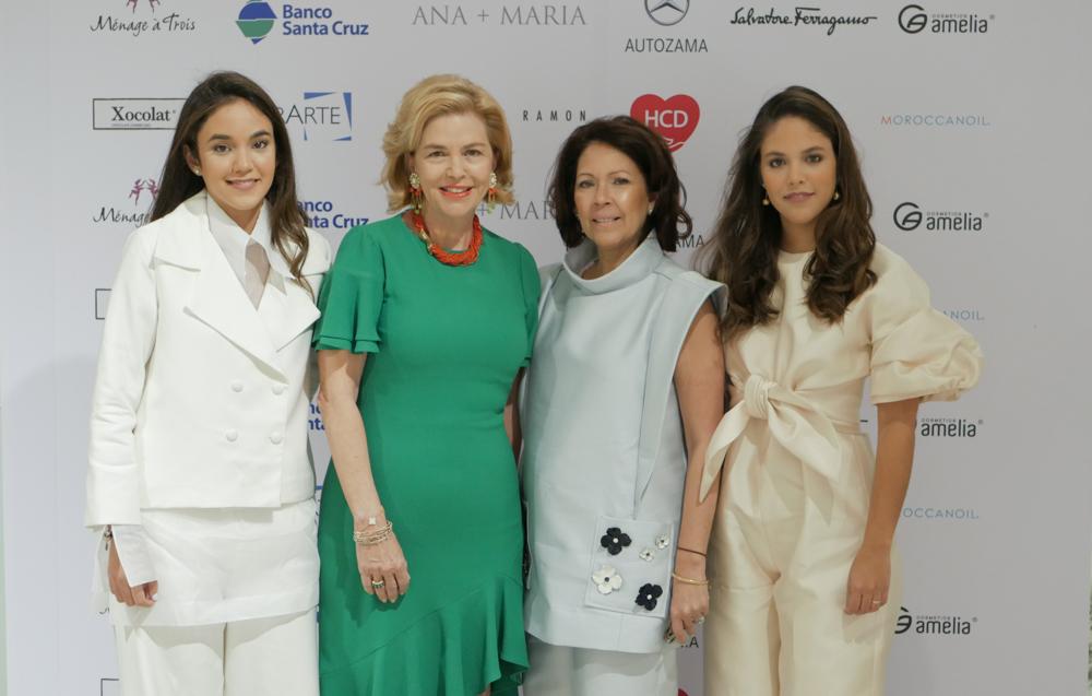 3.Jimena Cordero, Susana Caro, Ani Luciano de Cordero, Anabella Cordero