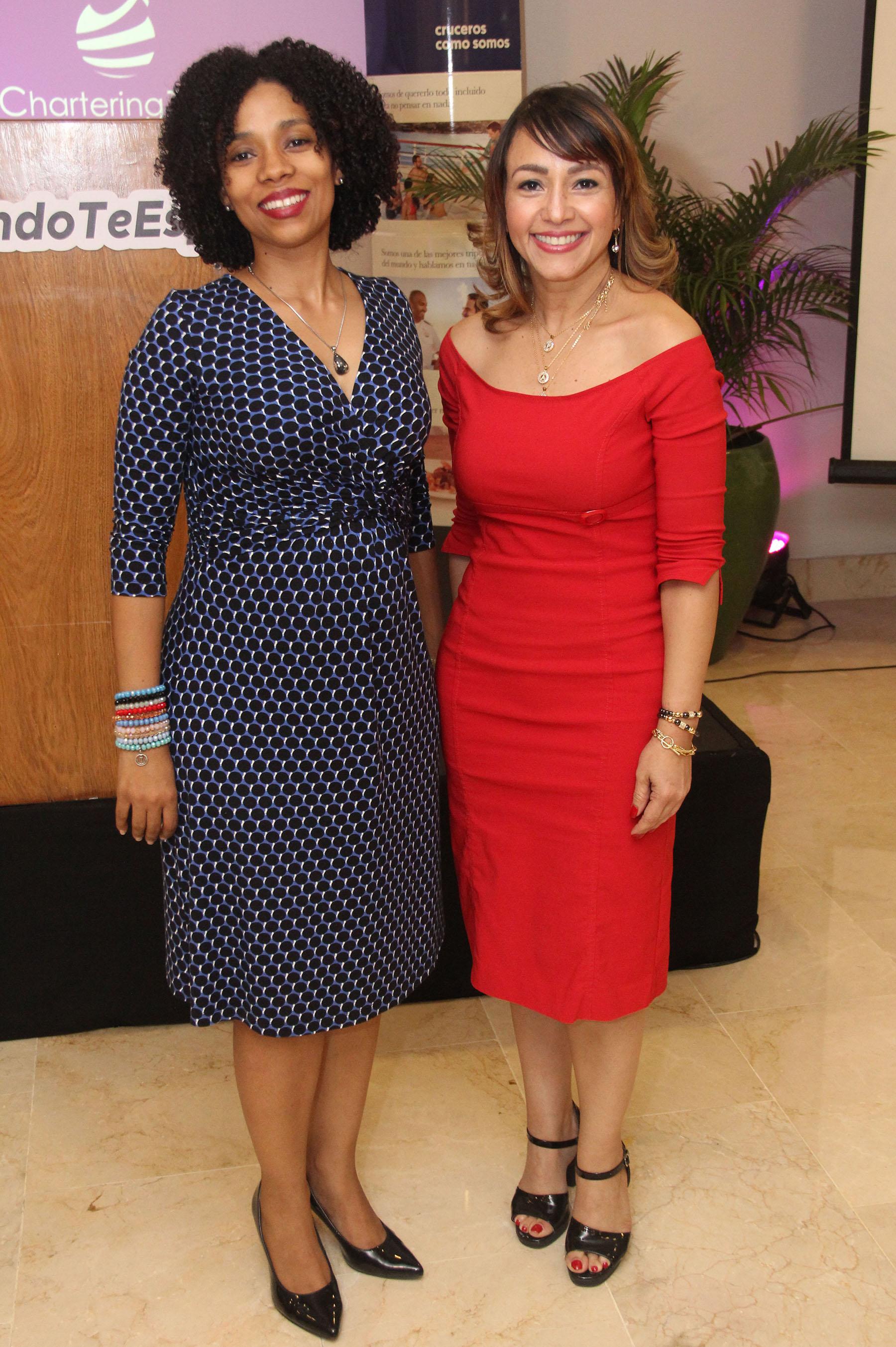 Celeste Olaverria y Maria Polanco