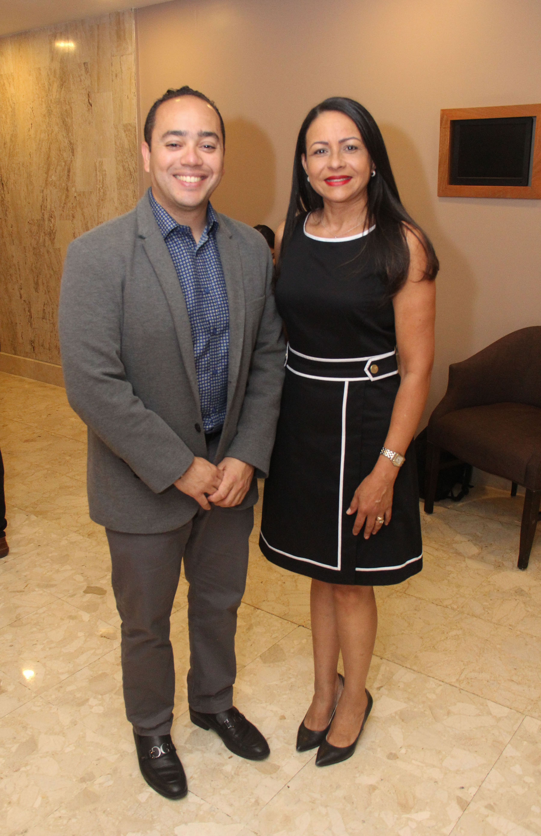 Guaroa Ubiñas y Joselin Nuñez