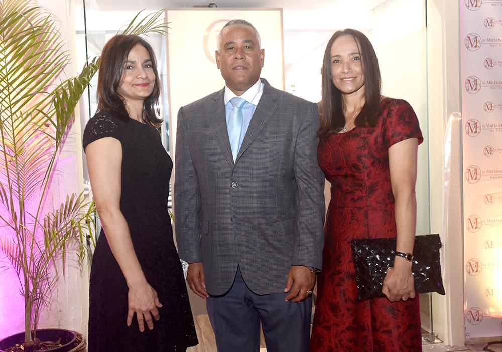 Lili Vales, Franklin Fernández y Yadira González