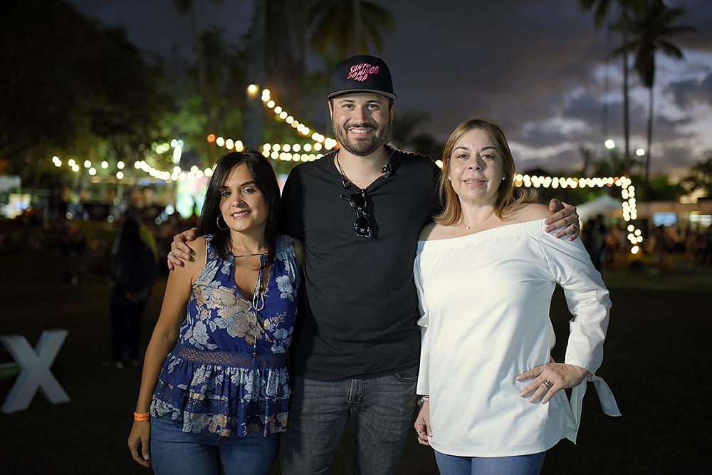 1. Principal, Liza Arzeno, Nono Rodríguez y Tammy Reynoso