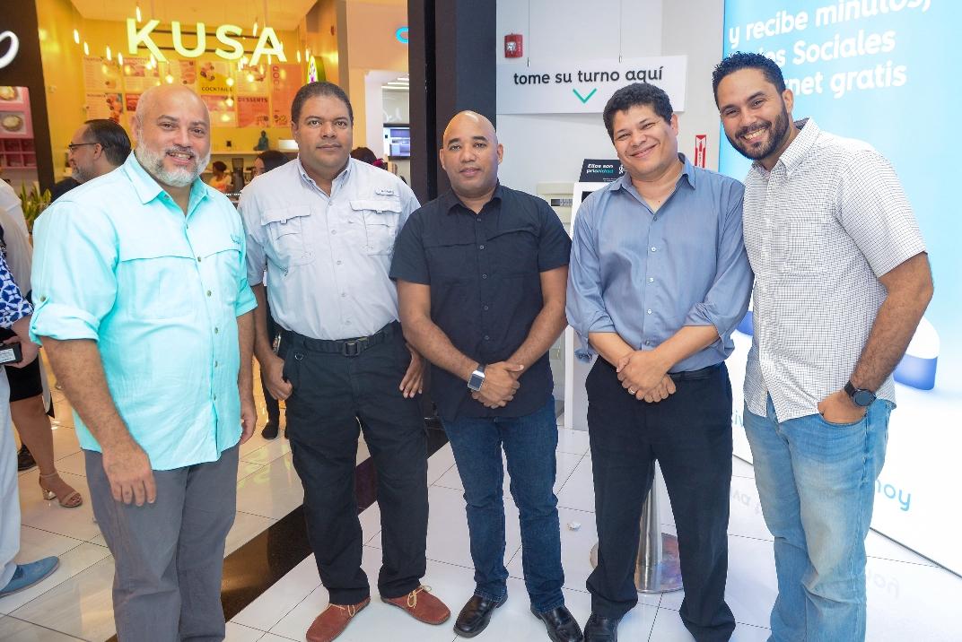 10. Danny Lantigua, Alberto Martínez, Isaac Ramirez, Juan Calcaño y Milton Peguero