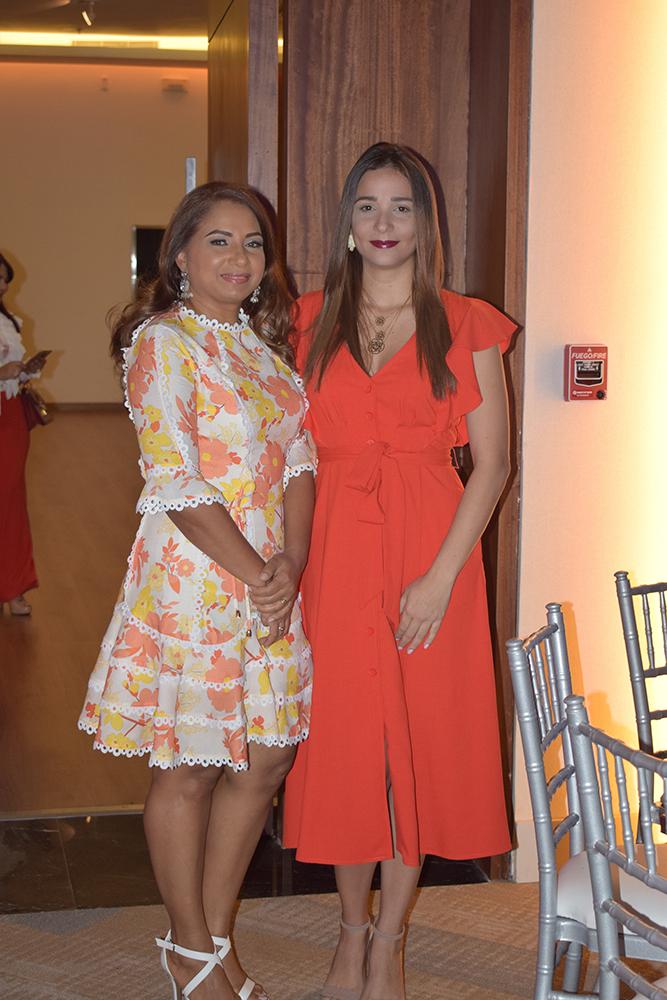 Ircania soto y Laura padovani