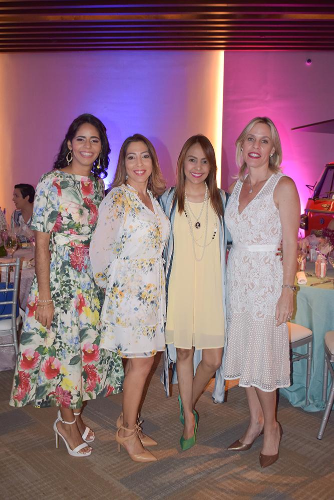 Mercedes Castillo, Solange Diaz, Carolina Martinez, Stephanie Willer