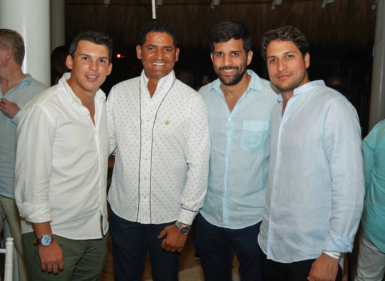 25- Omar Ursula, Alexander balbuena, Luis Eduardo y Francis Luis Ramón Francis