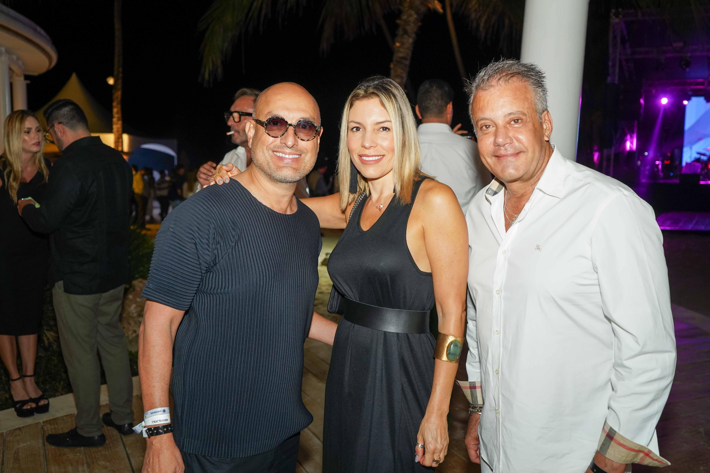 5- Ángel Sánchez, Tamara de Leggio y Alberto Leggio