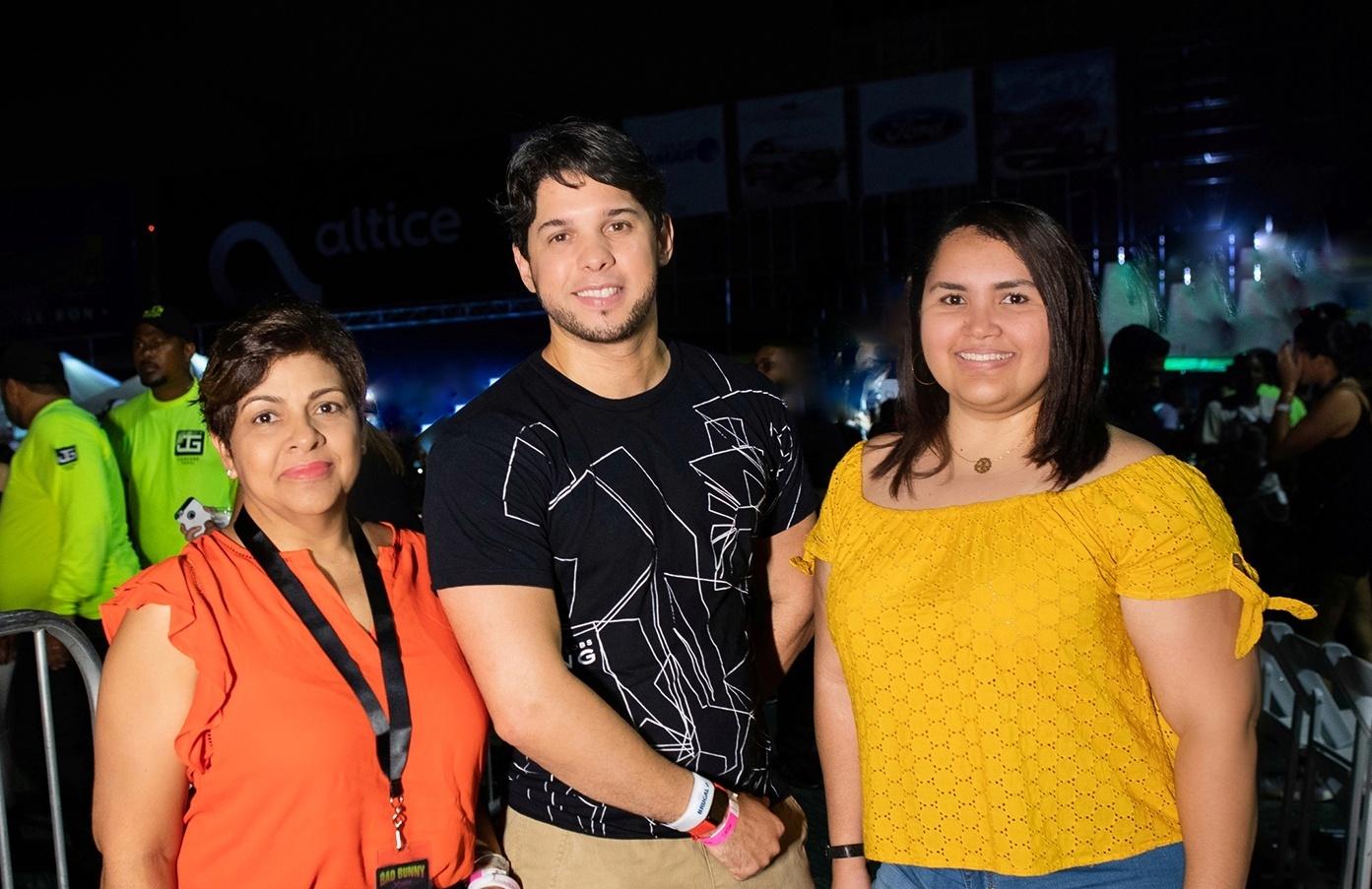 1-Principal. Soraida Soto, Oscar Nuñez y Keyla Santana