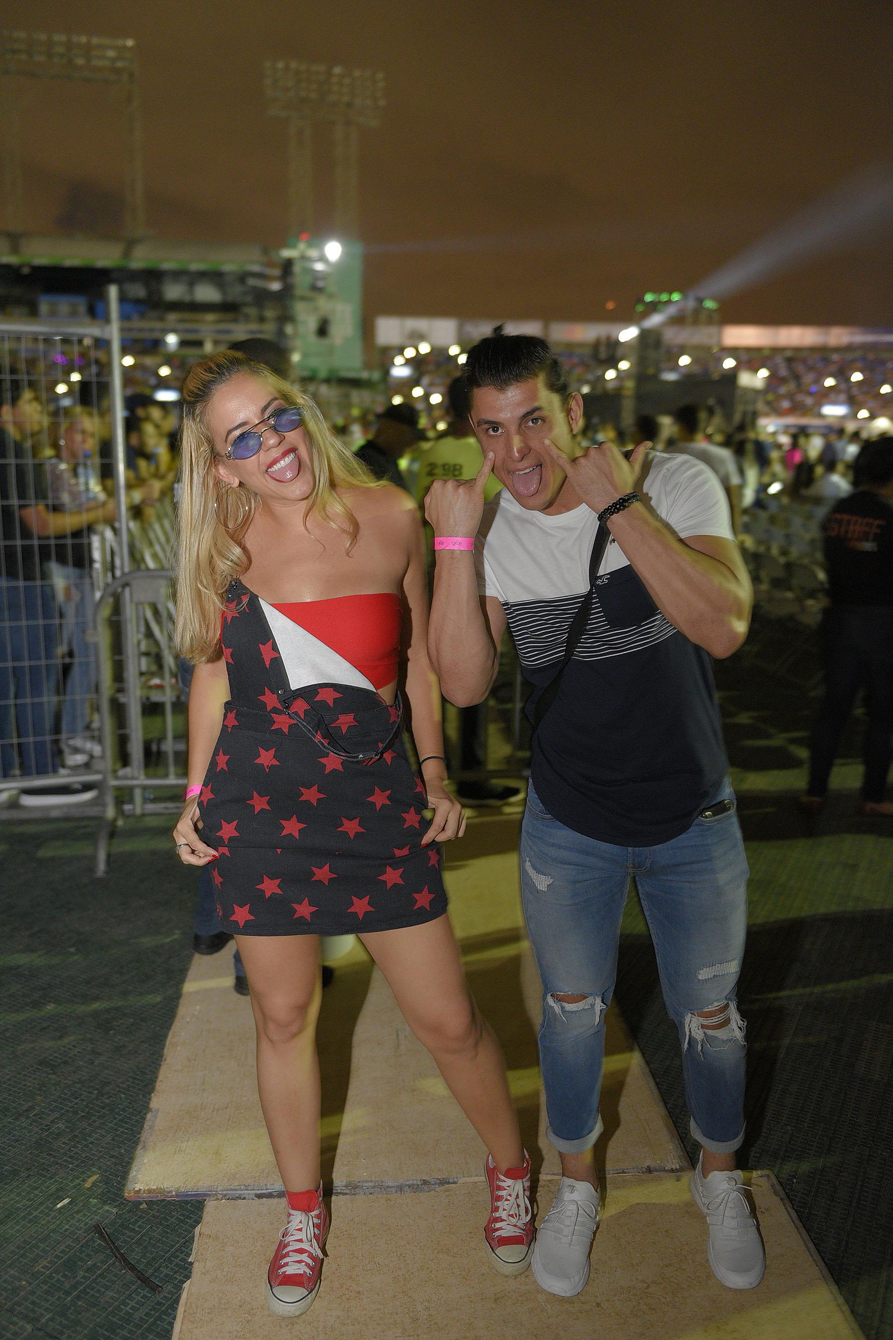 10. Ashley Ventura y Alberto Duran