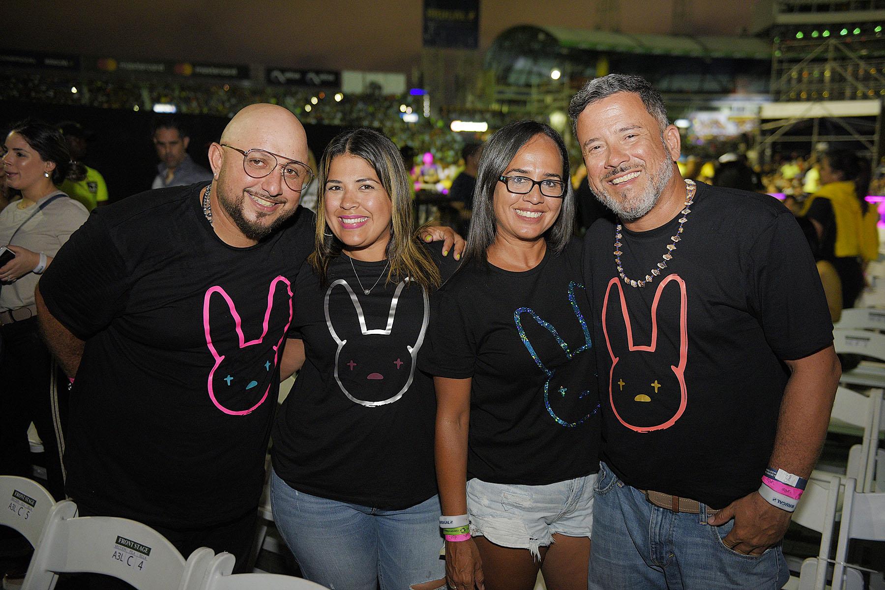 11. Ivan Arrollo, Arlin Maldonado, Chary Rivera y Raul Cruz