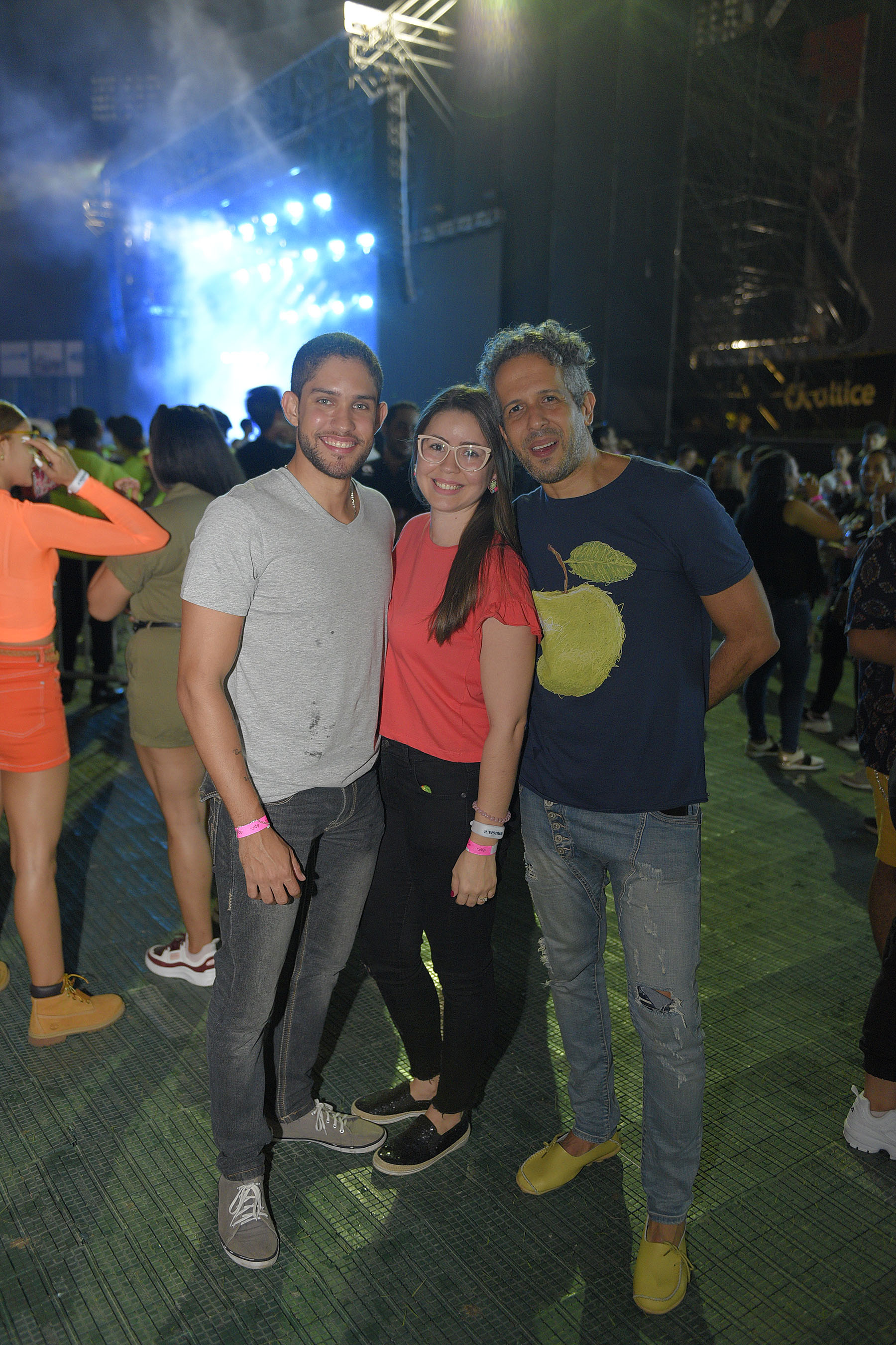 6. Alberto Sanchez, Lian Castillo y Benny Ferreira