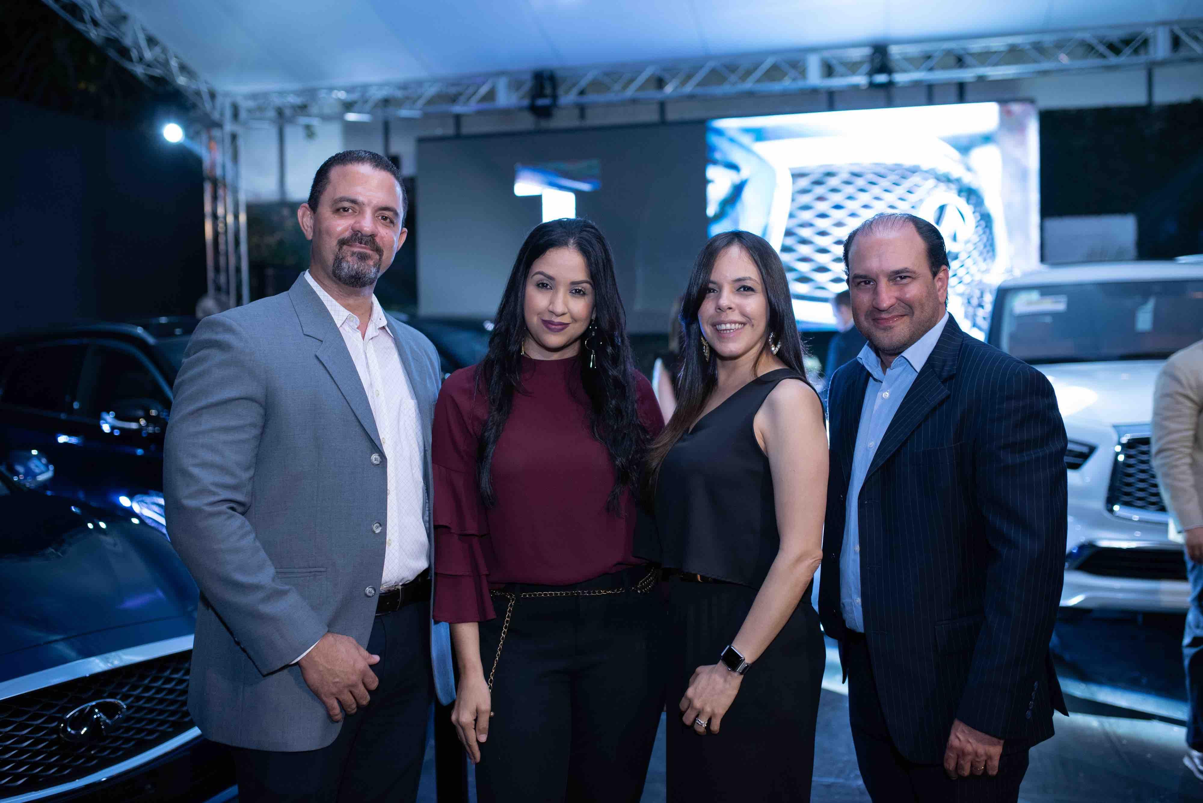 2. Pedro Nicasio, Liani Reyes, Melanie Portes y Juan Sierra