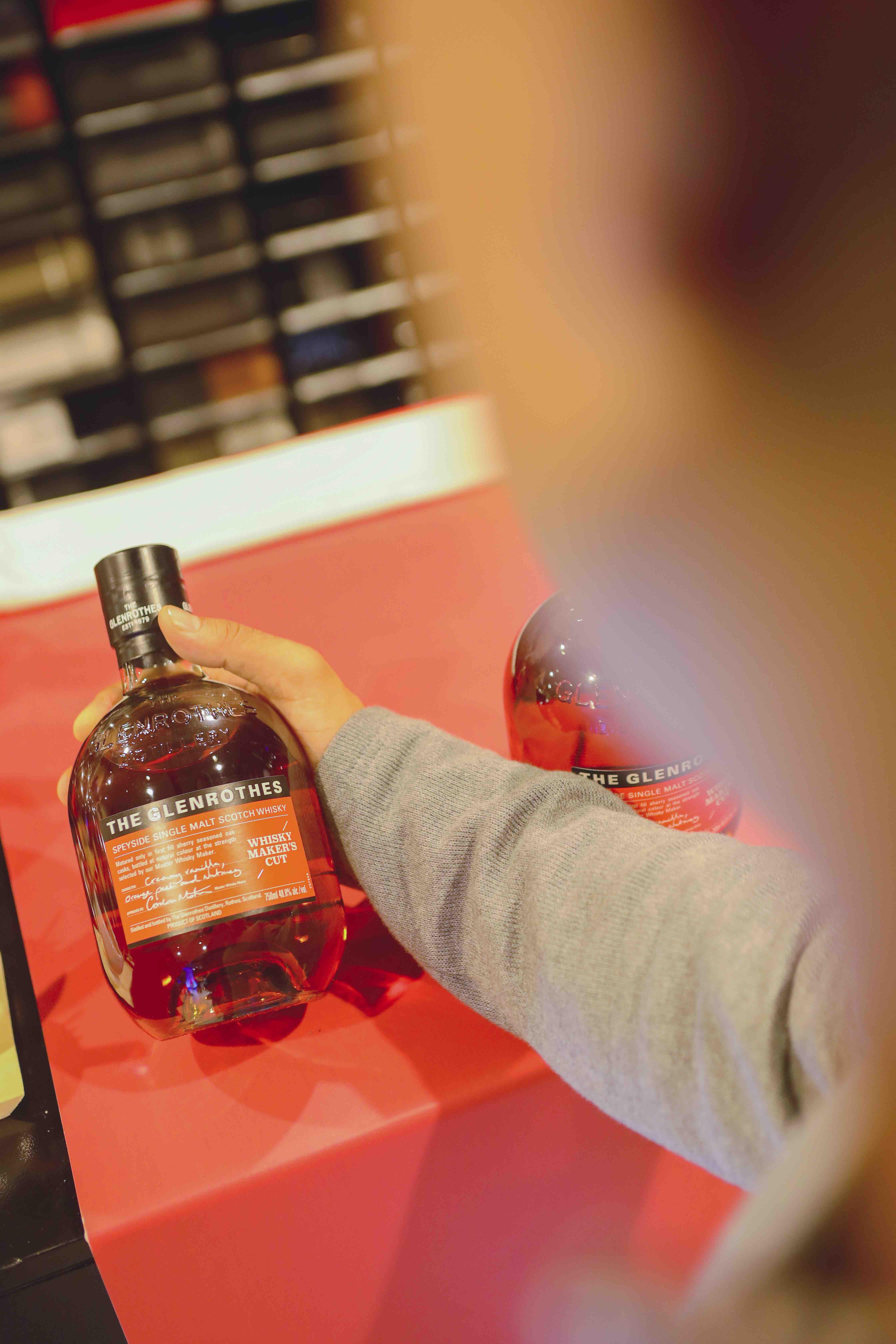 Botella de Glenrothes