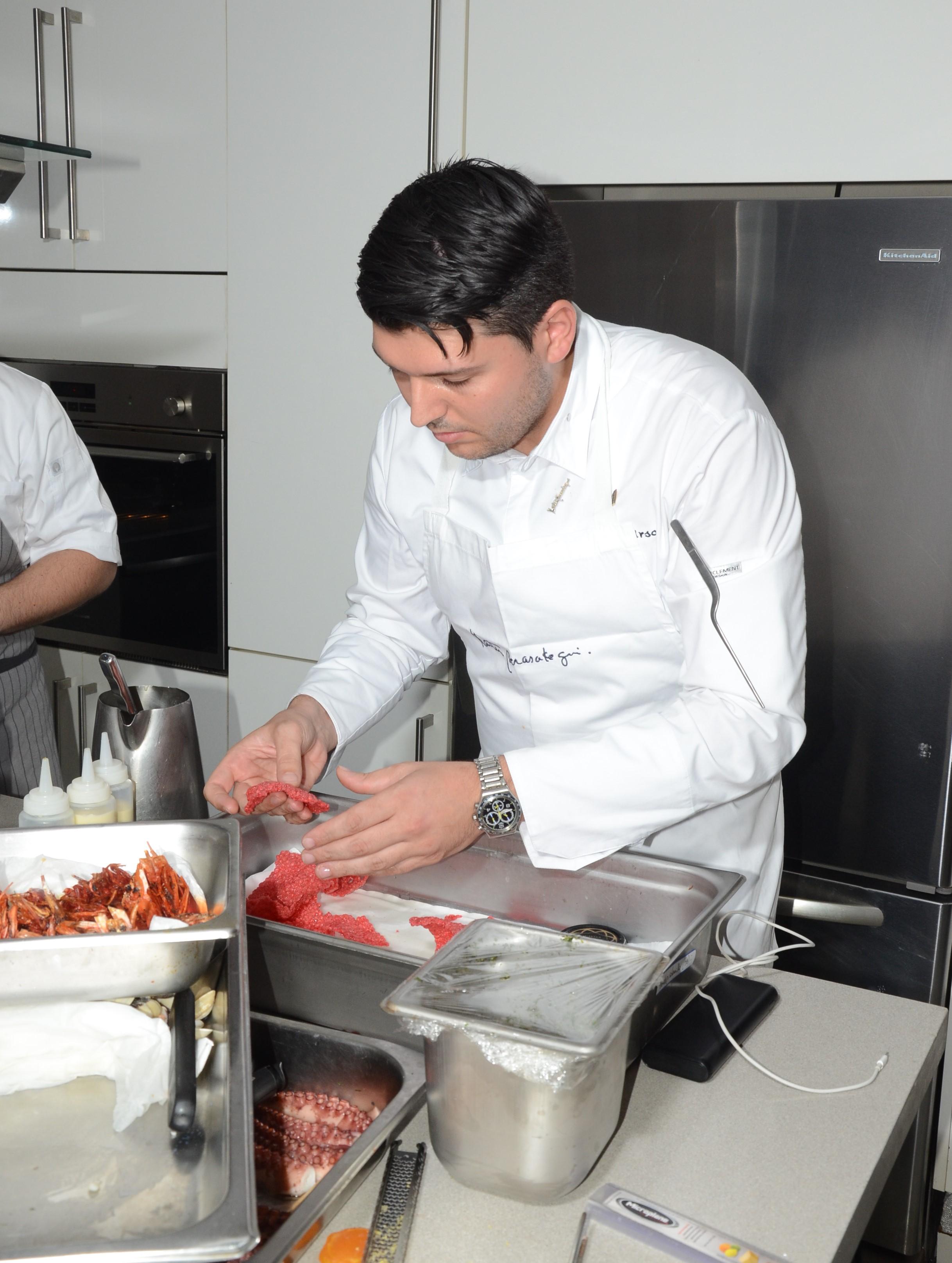 Chef Cosimo Urso de Paradisus by Meliá y sus restaurantes Passion by Martín Berasategui