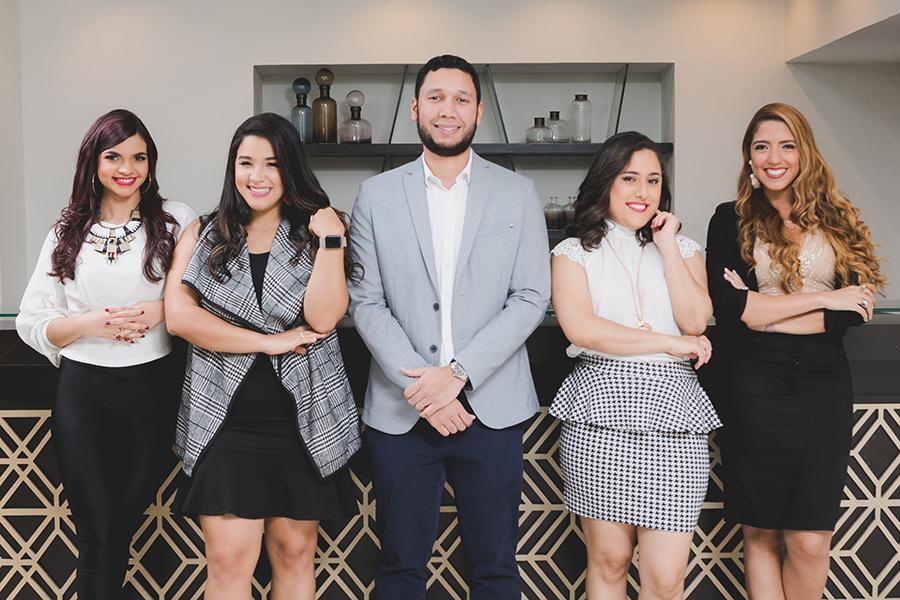 Foto Principal - Perla Artílez, Karla Taveras, Pablo Puello, Karla Sanabia y Pamela Rodríguez