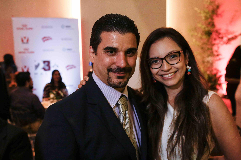 12. Alejandro Meneses y Veruschka Quintero