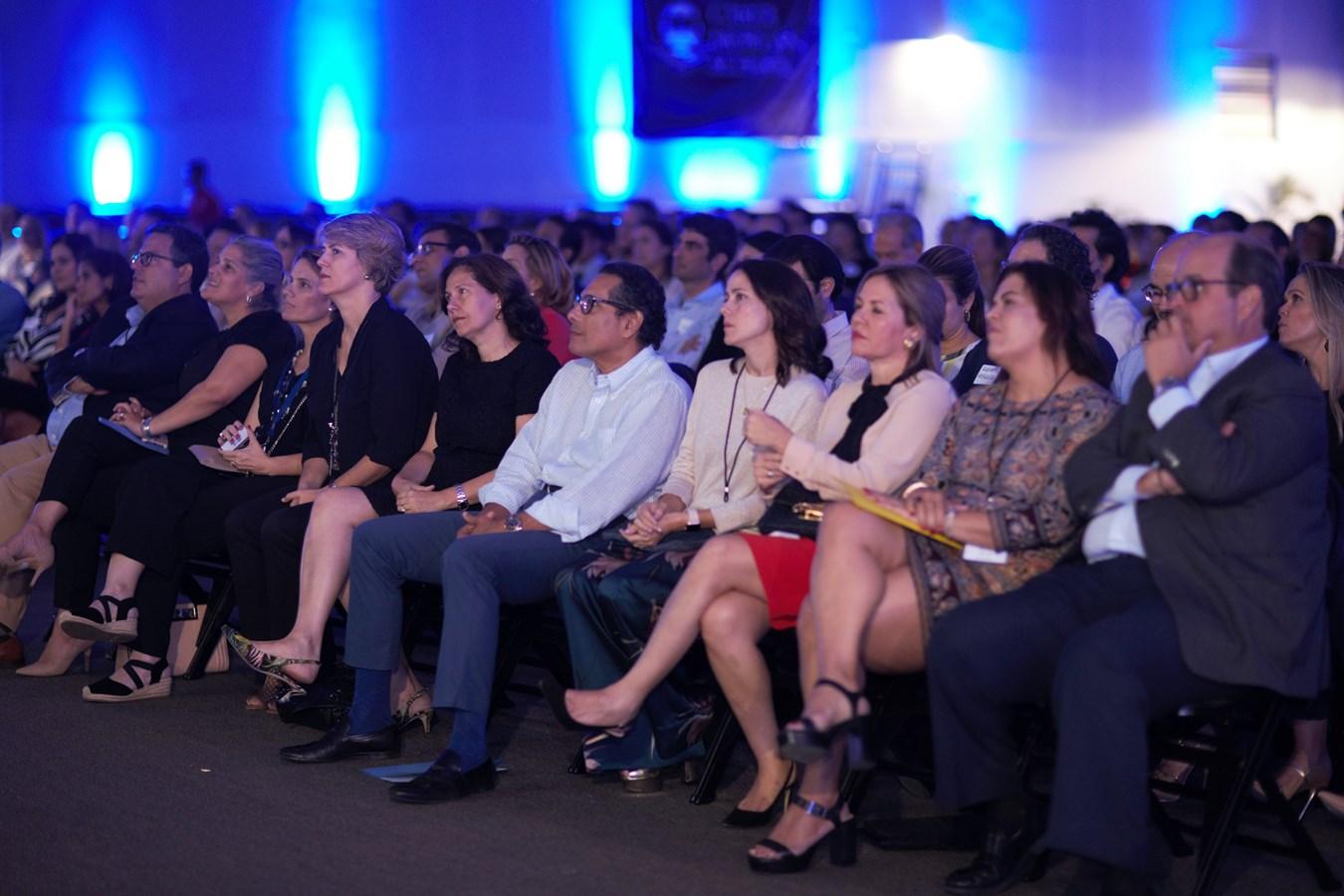 Parte del público asistente