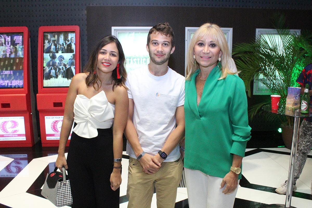 Andrea Cabral, Francisco Gabral, Ingrid Gonzalez