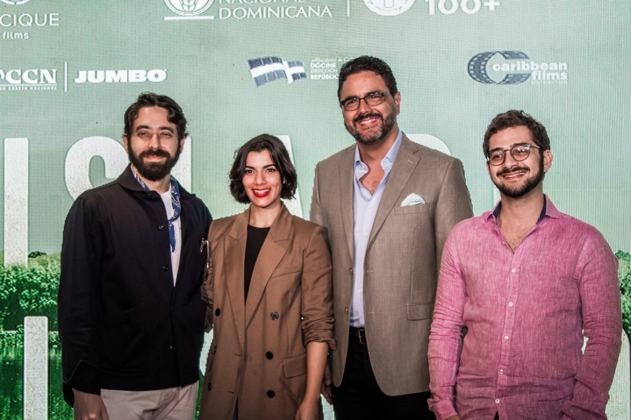 David Maler, Nashla Bogaert, Gilberto Morillo, José María Cabral (2)