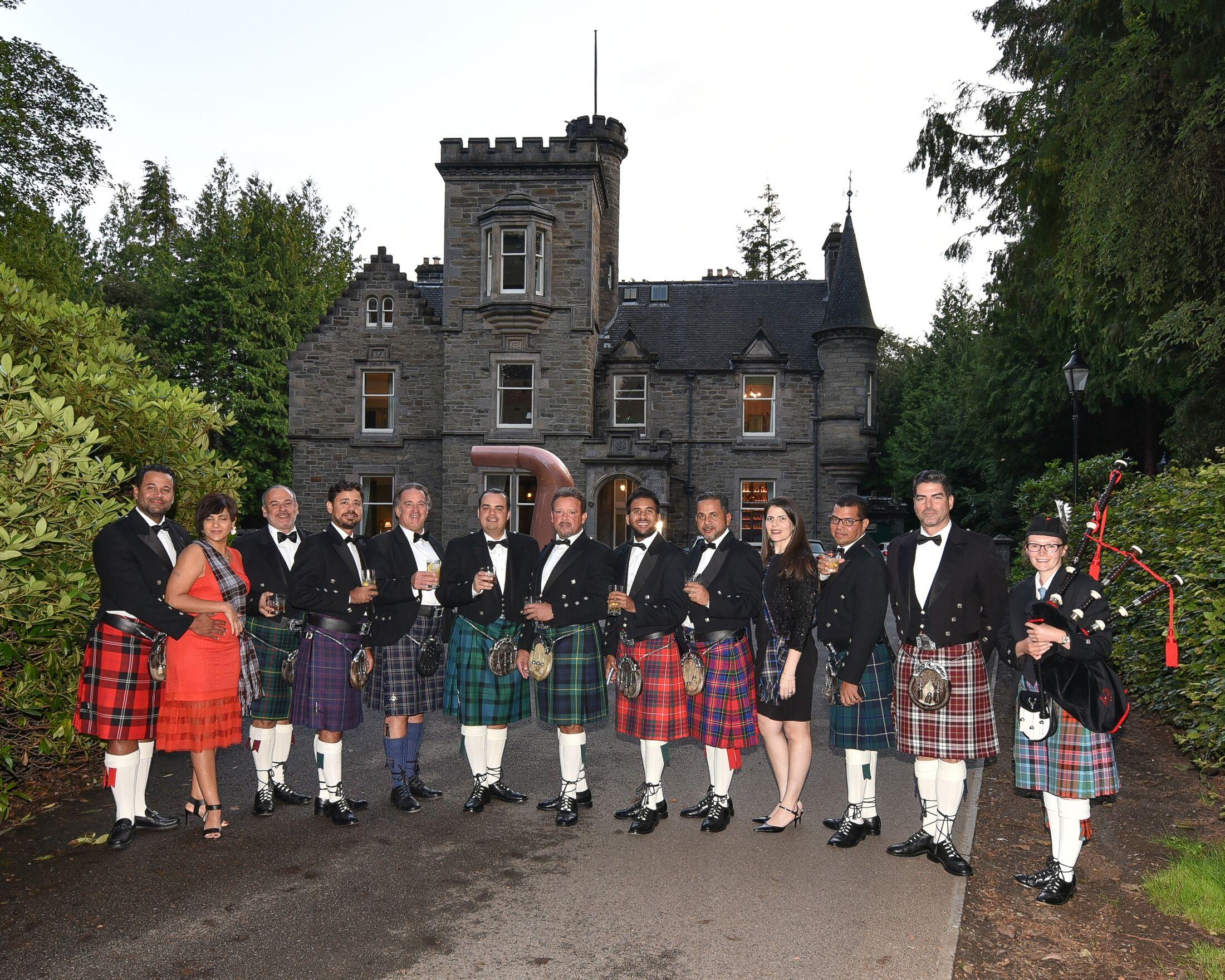 Fiesta tradicional de Escocia