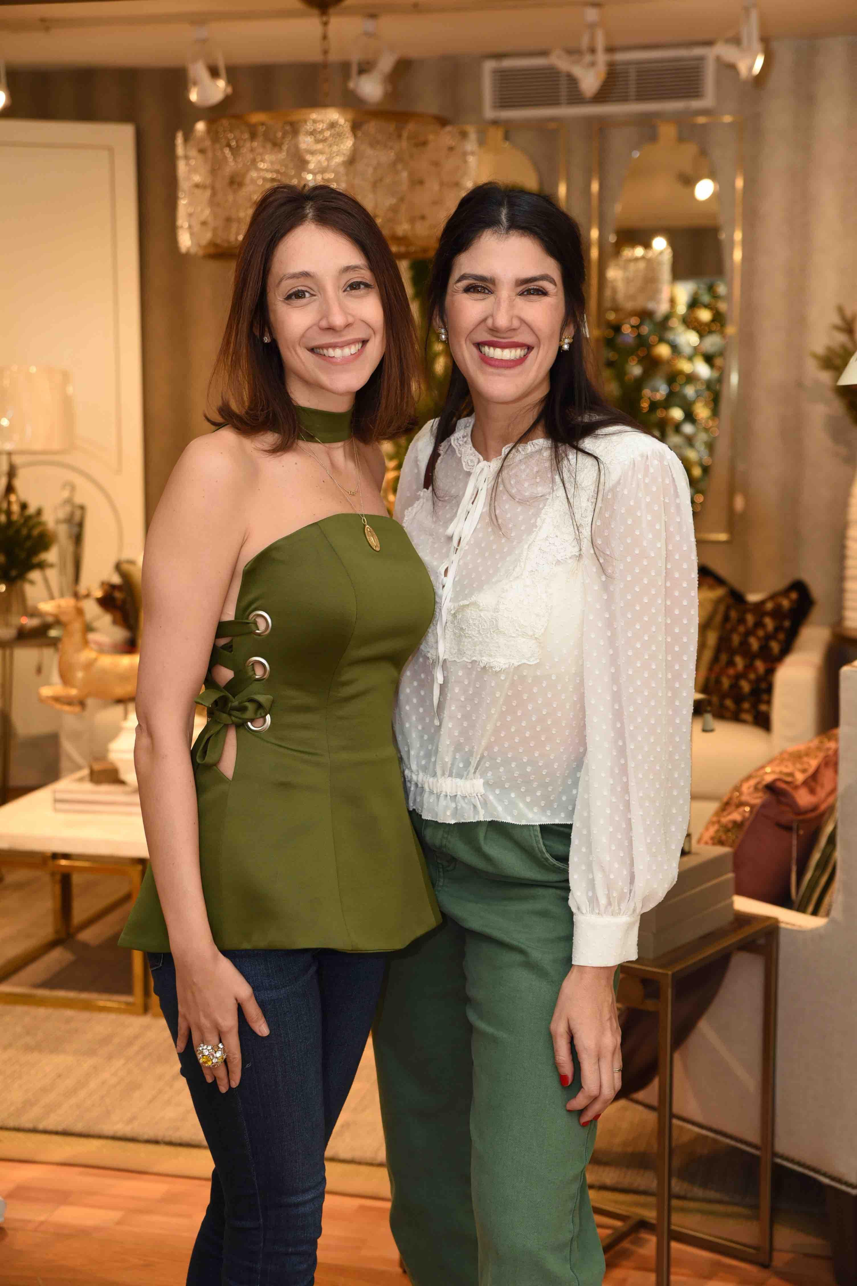 Francesca Robiou & Crystal Jimenez