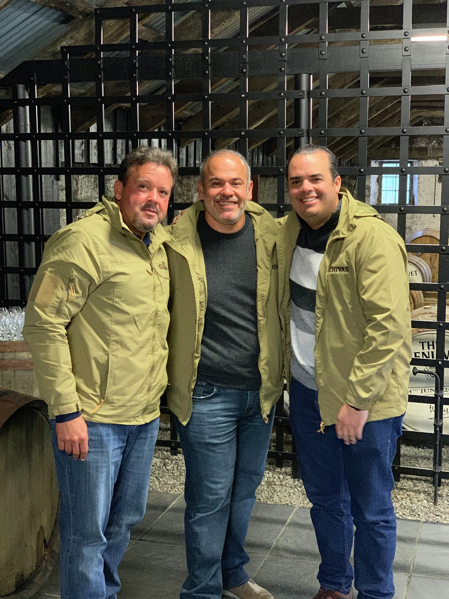 Freddy Almonte, Ariel Tavarez y José Luis Montero