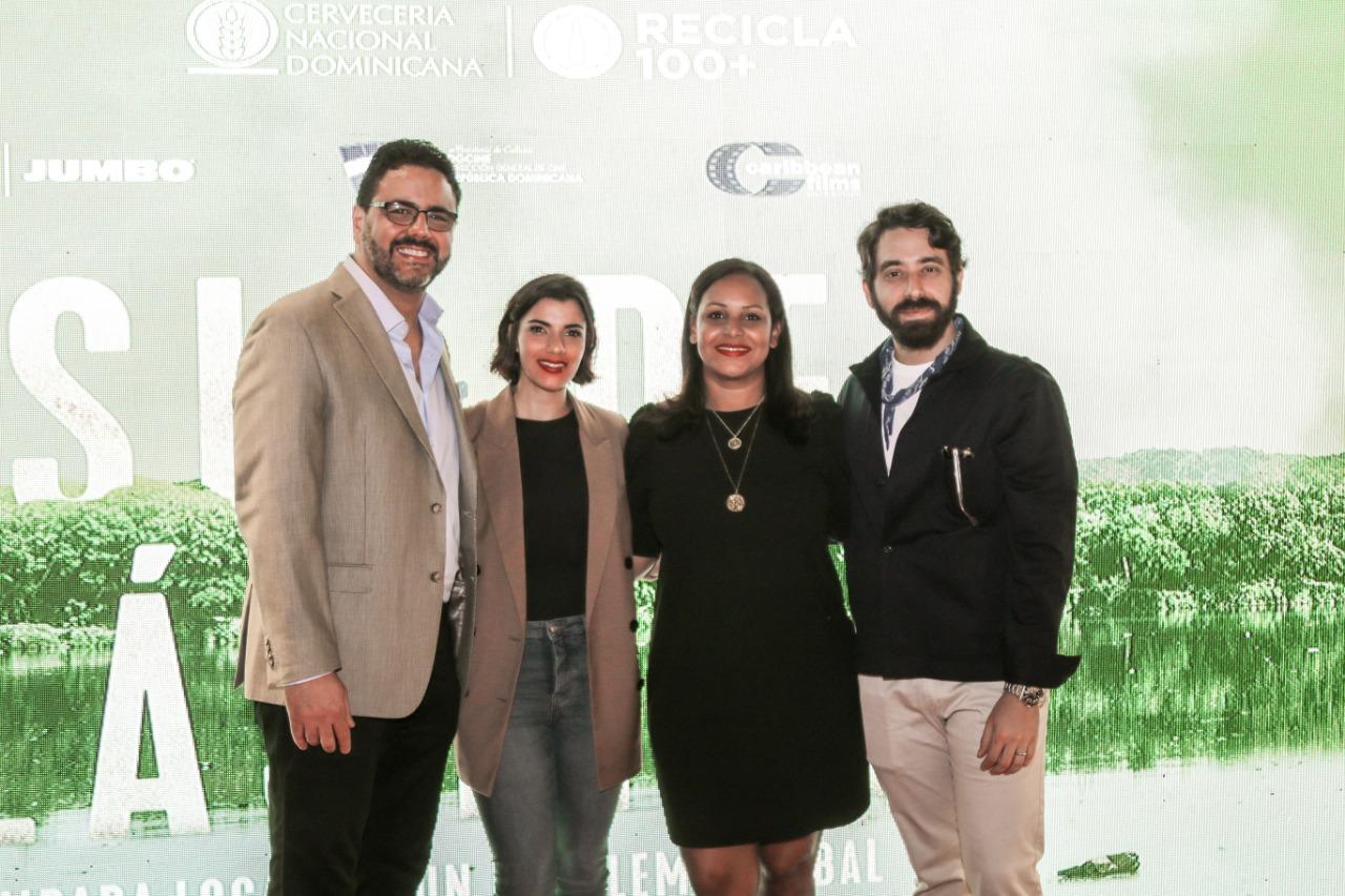 Gilberto Morillo, Nashla Bogaert, Zumaya Coredero, David Maler