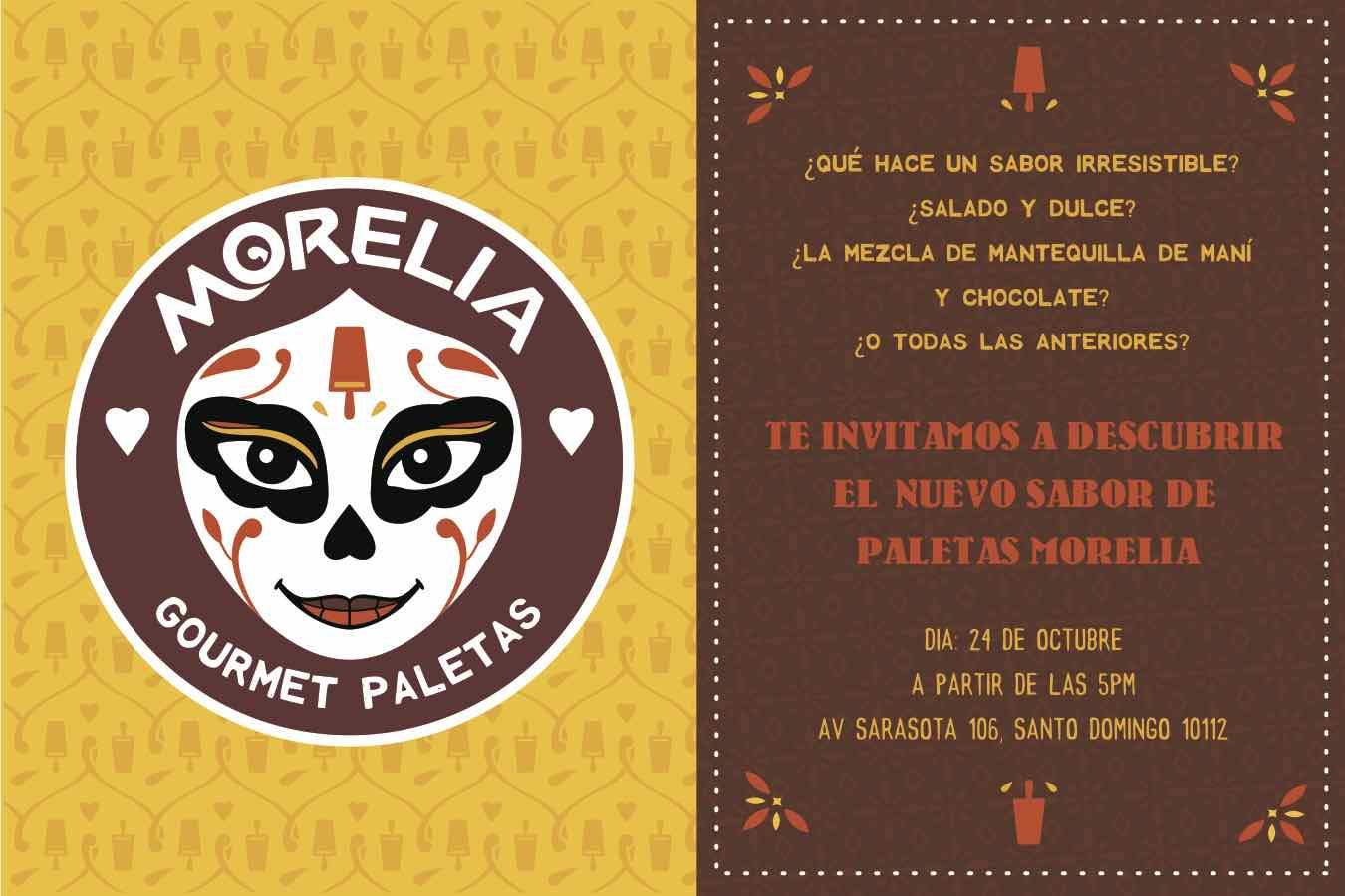 Morelia Invitación Nuevo Sabor