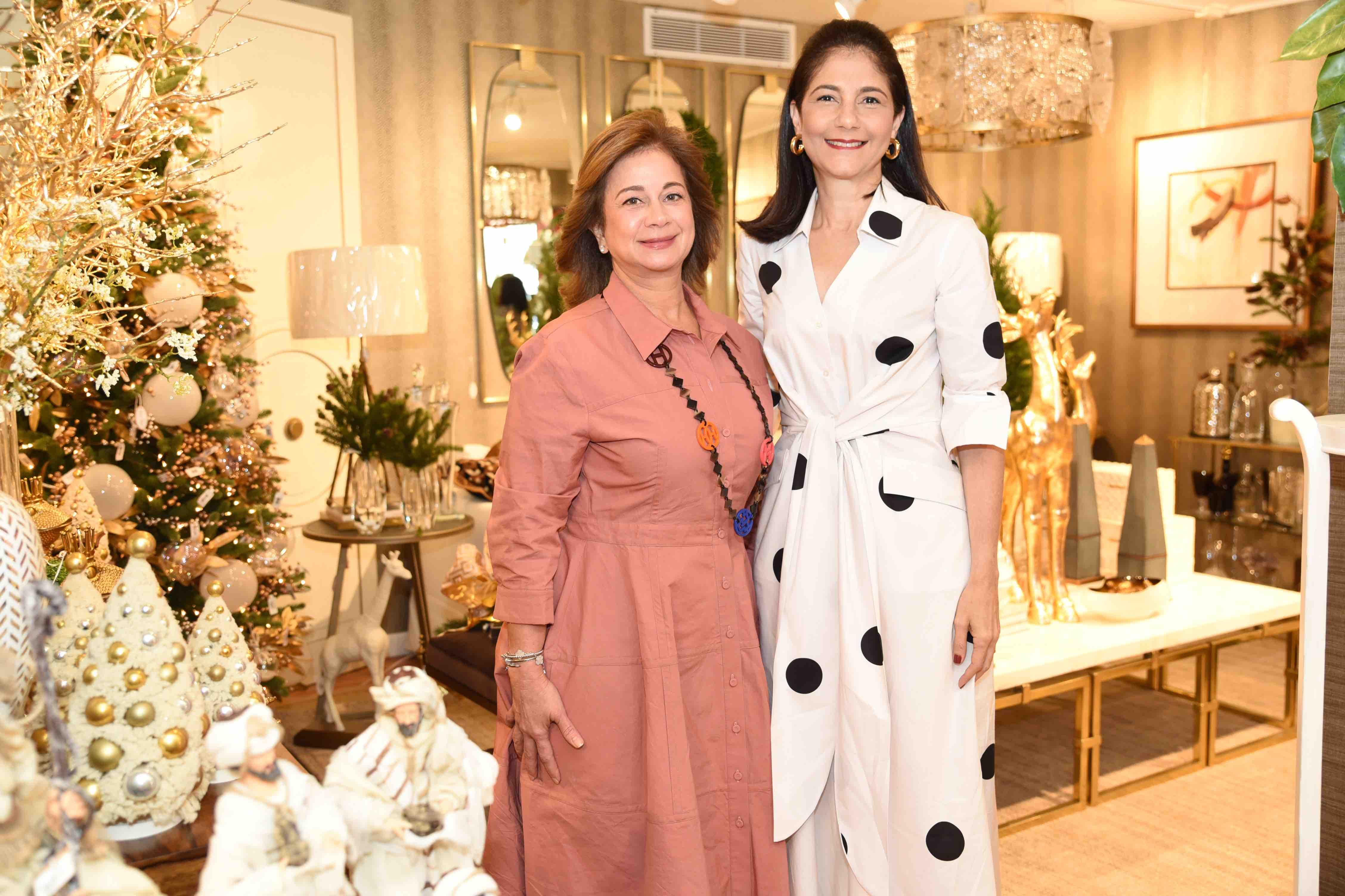 Nicole Morales & Maribel Haché de Fernández