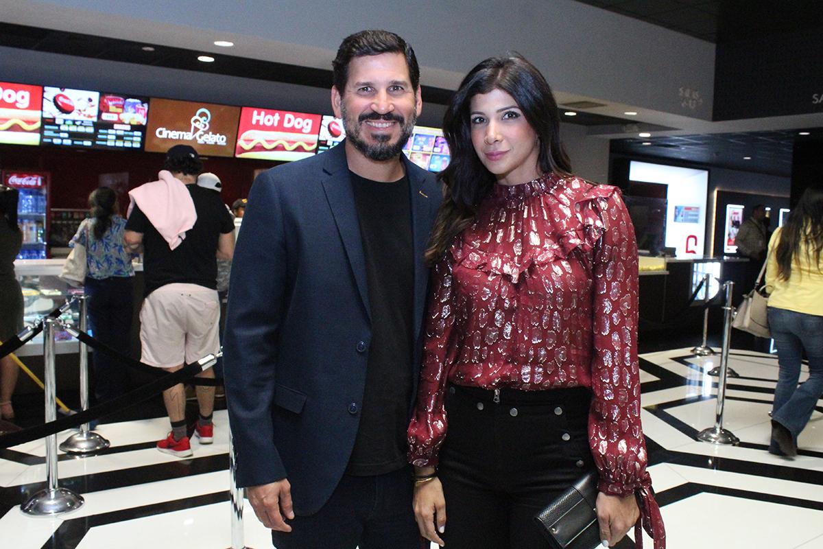 Victor Perdomo y Sarah Nivar