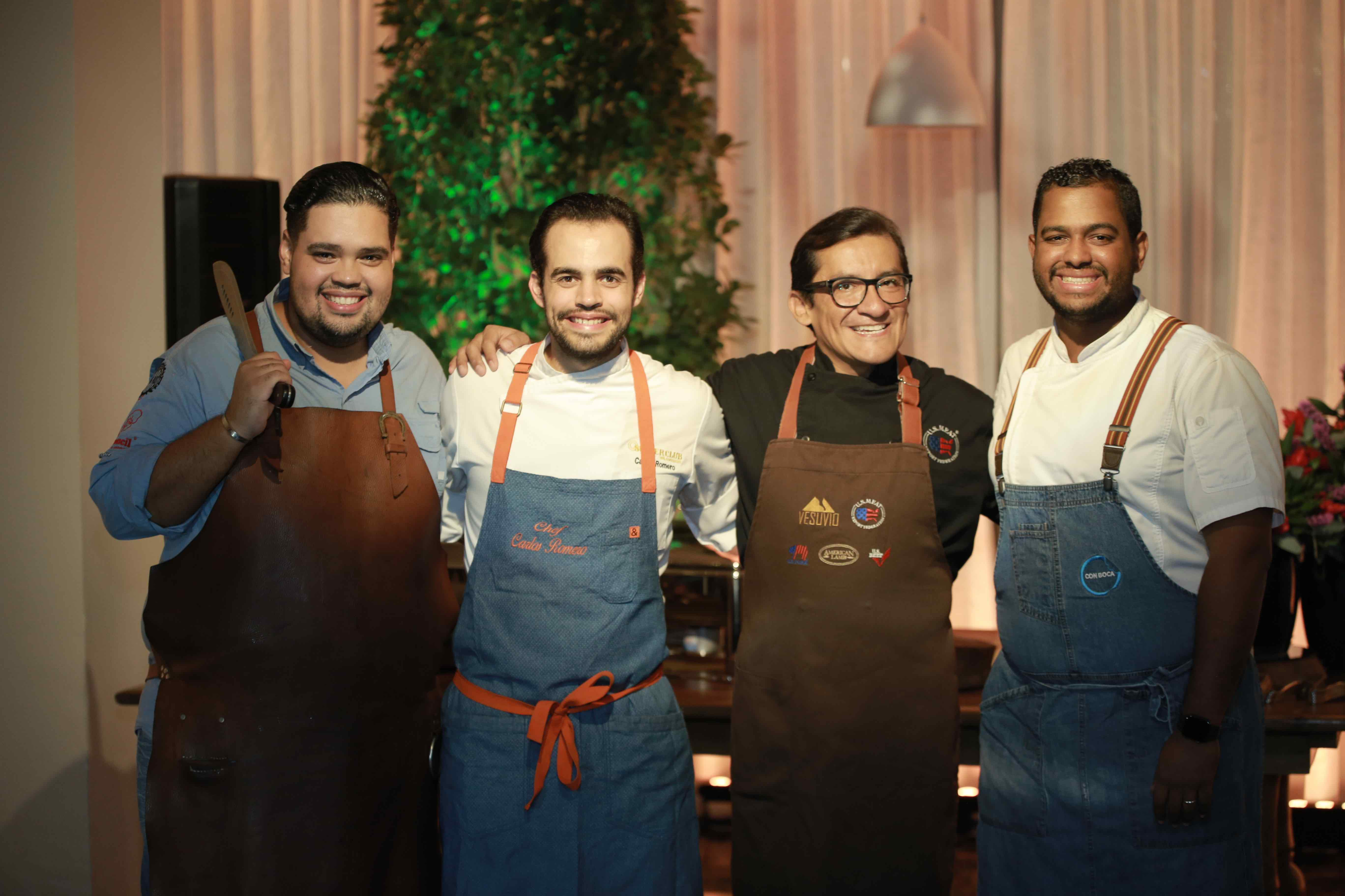 1.1 Chef Billy Ray, Chef Carlos Romero, Chef German Navarrete & Chef Raymond Rodríguez