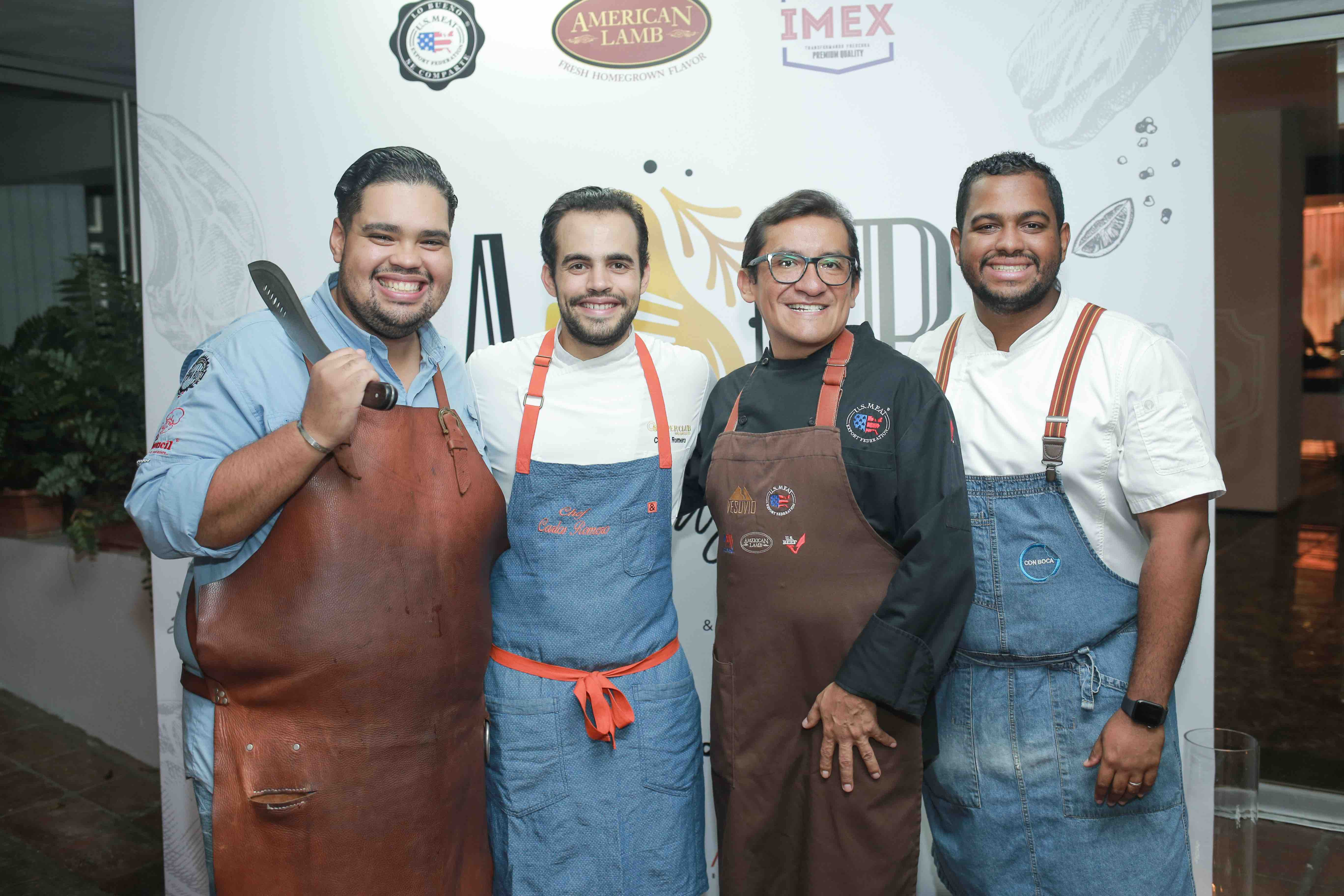 1.2 Chef Billy Ray, Chef Carlos Romero, Chef German Navarrete & Chef Raymond Rodriguez