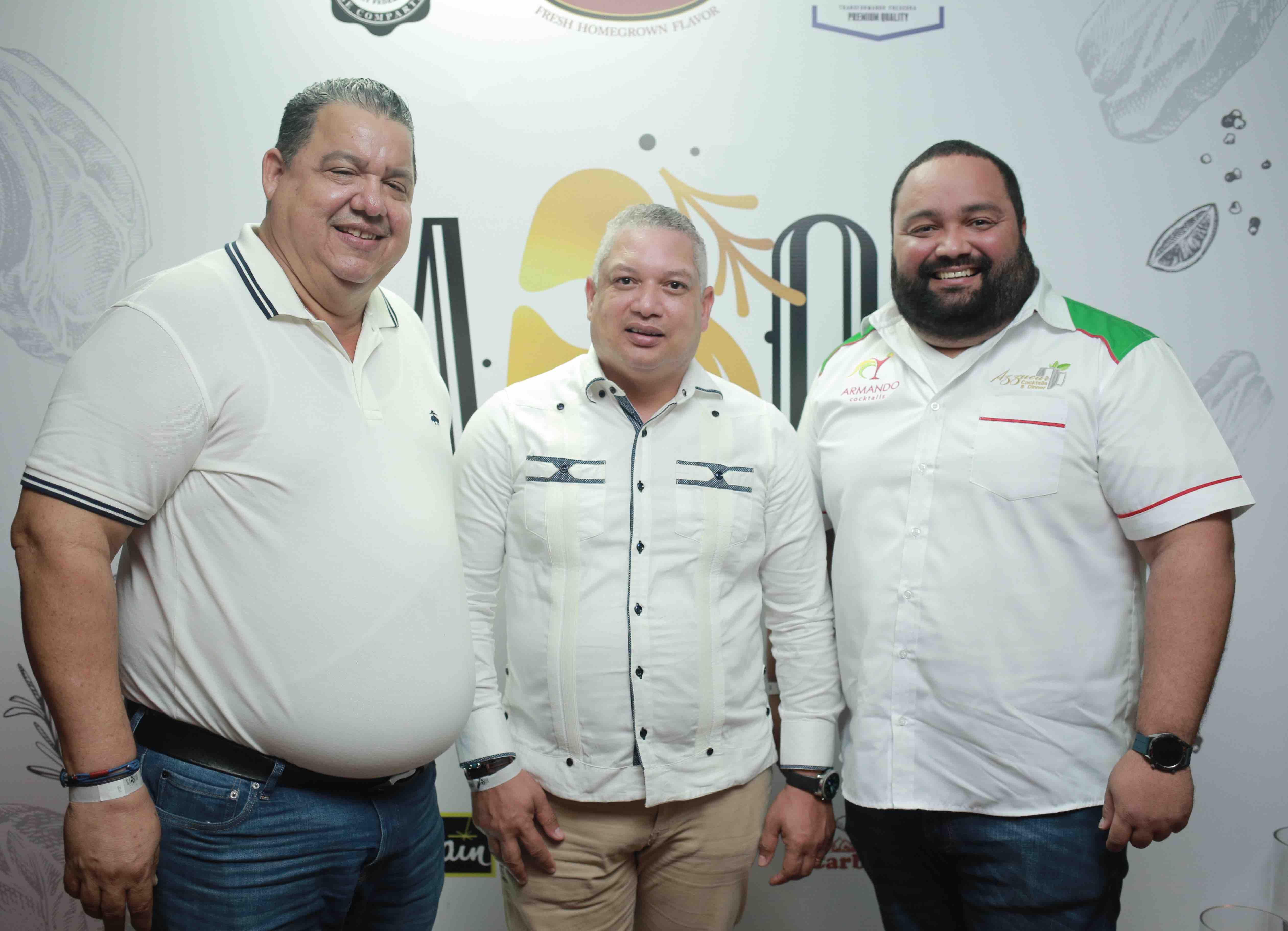 13. Arismendi de Moya, Daniel Canela & Armando Cabreja