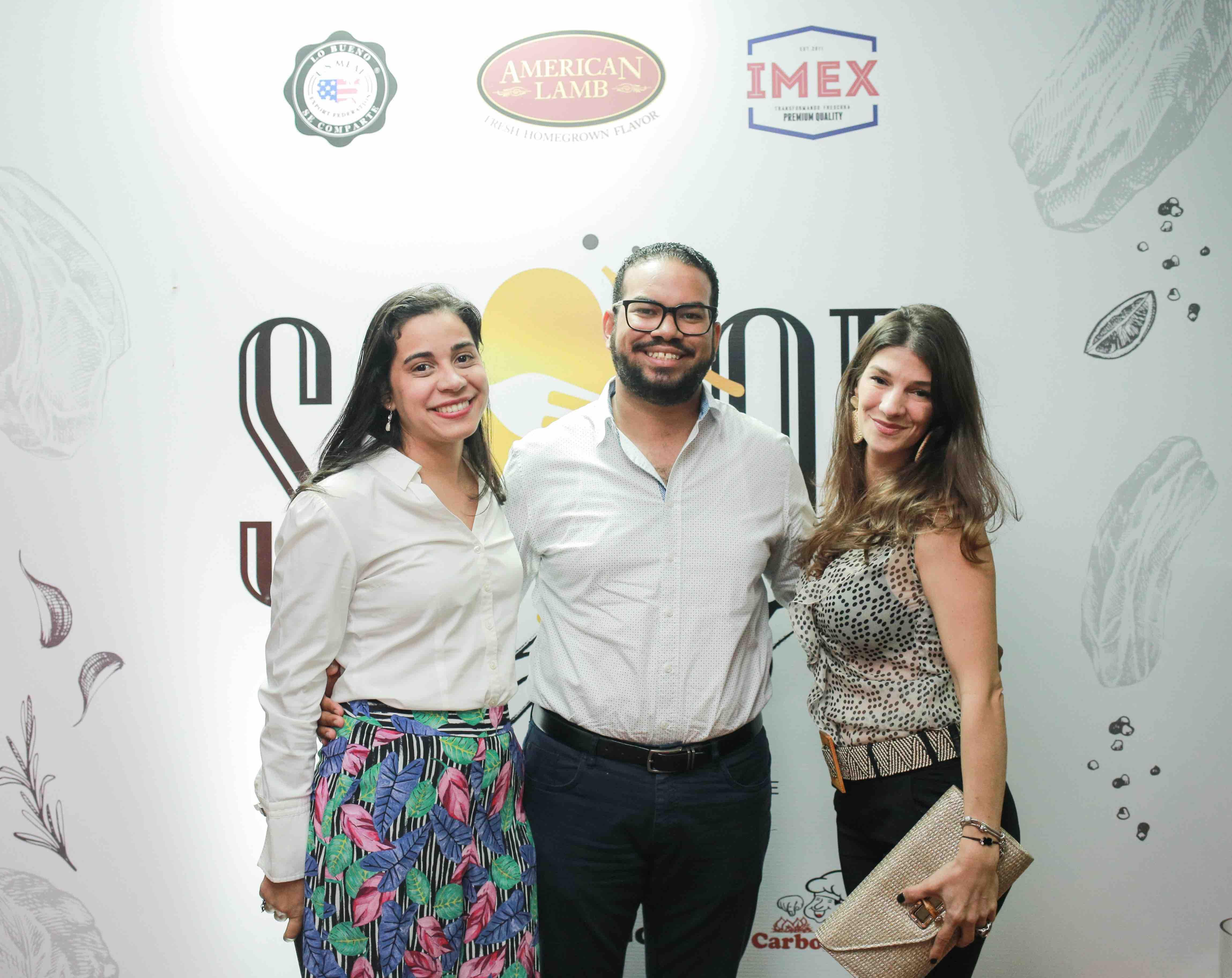 14. Alexia Miraglia, Jose Daniel Espinal & Liza Diaz