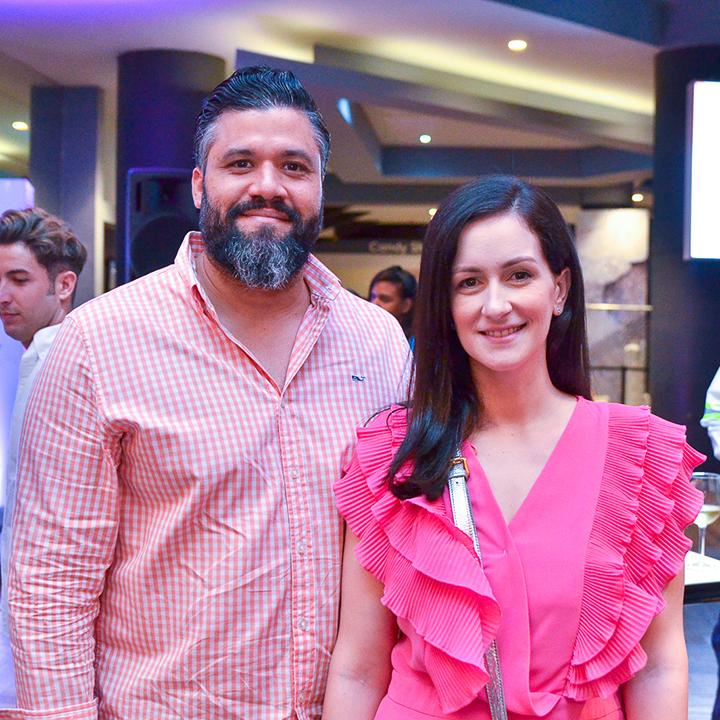 Isaias Cid y Cristina Baez
