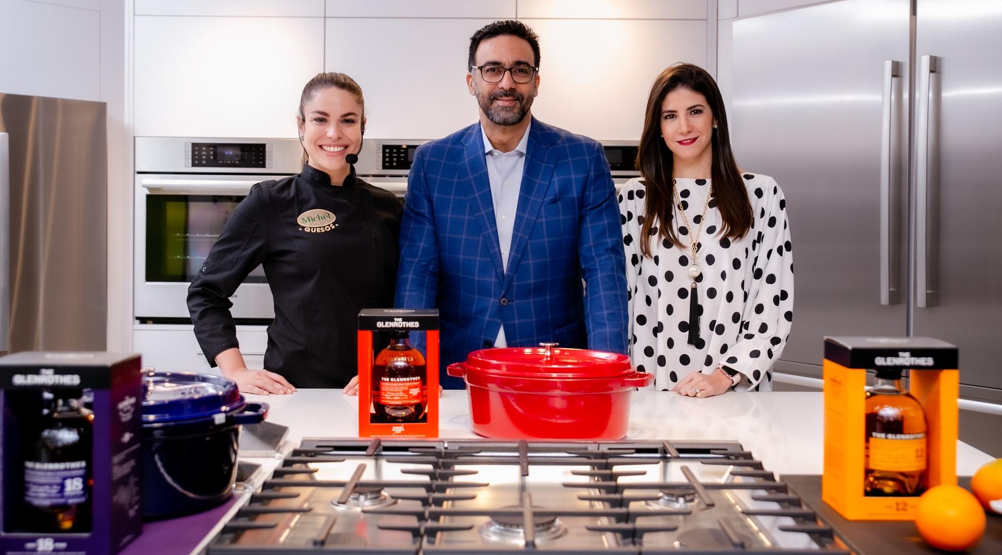 1.1 Chef Rosalia, Sasha Aquino y Rafael Rodriuez