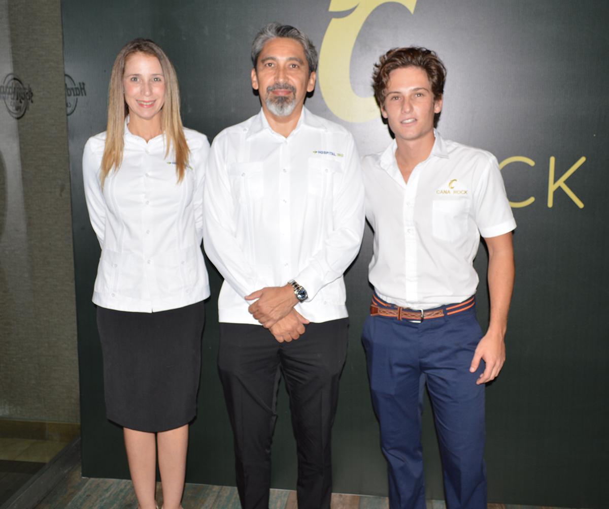 Cheily Chercia, Carlos Prato, Javier Hermana Jr