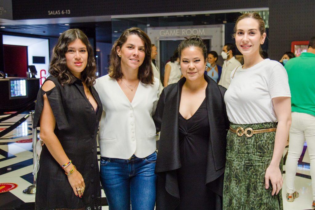 Carolina Socias, Anna Redman, Kaori Sone y Giada Plebani