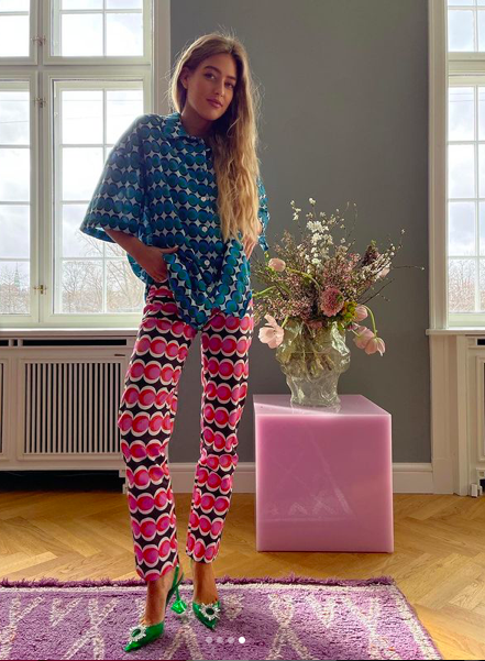 La estilista sueca Emili Sindlev