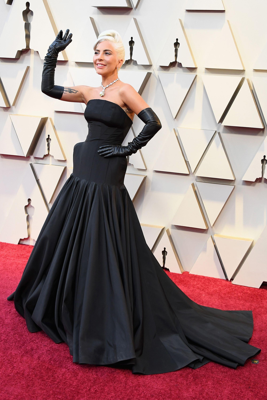 Vistiendo de Alexander McQueen en los Oscar 2019