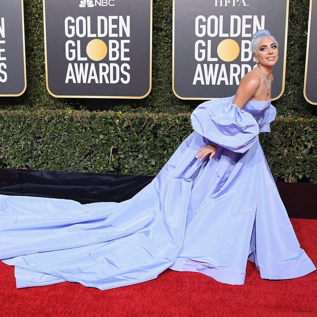 De Valentino en los Golden Globe 2019