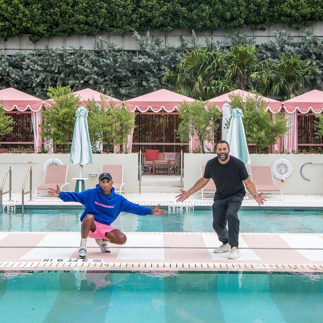 Pharrell y Dave Grutman