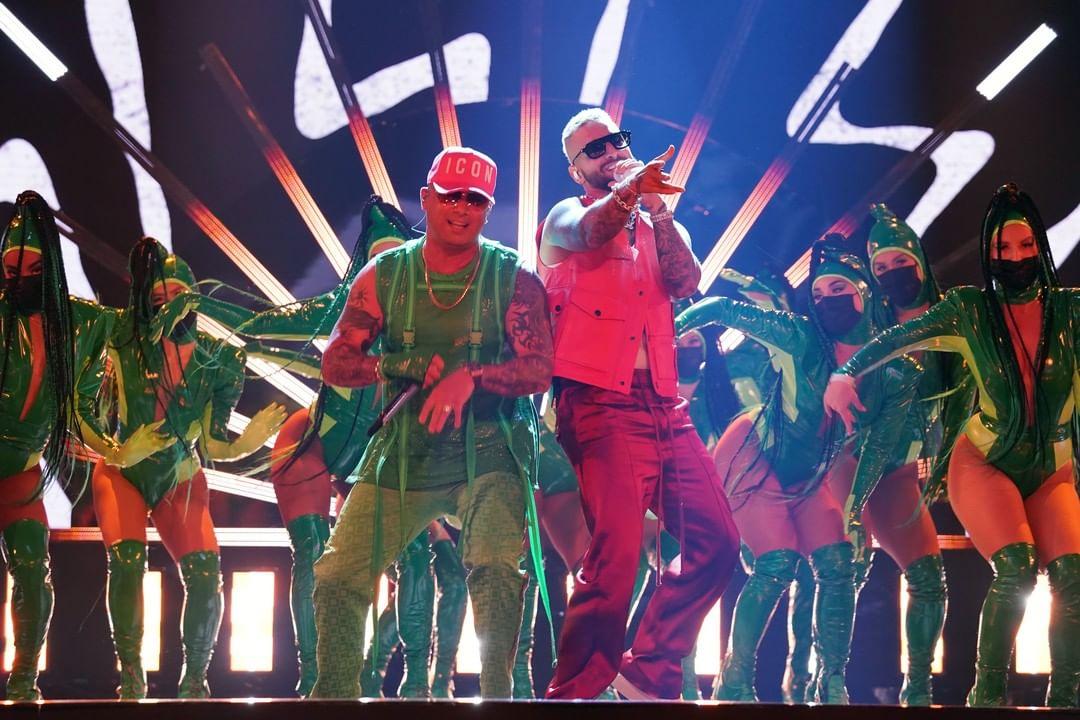 Maluma y Piso 21 tuvieron a su cargo el cierre de los premios.