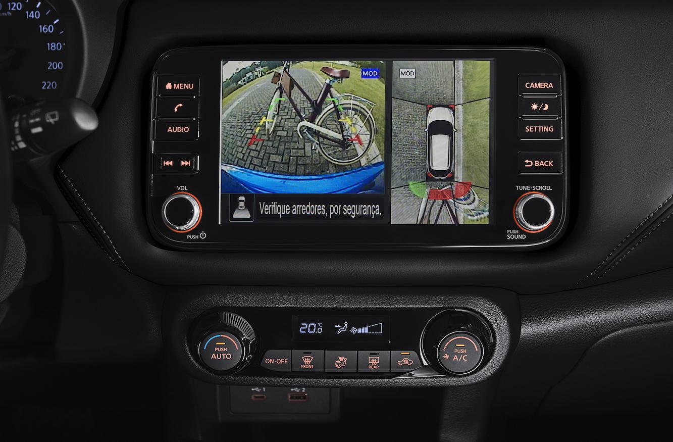 Las cámaras tienen un monitor de vista 360.