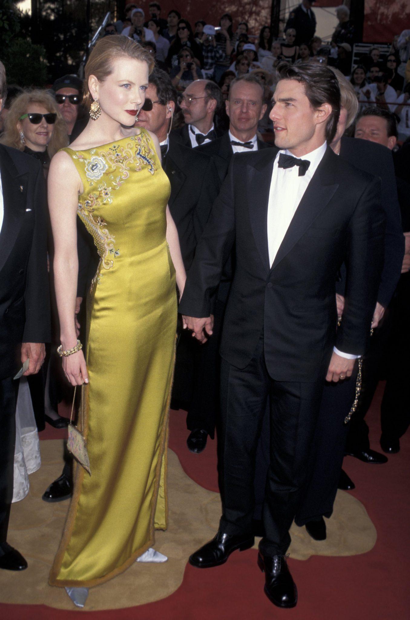Nicole Kidman, por John Galliano para Dior en 1997.