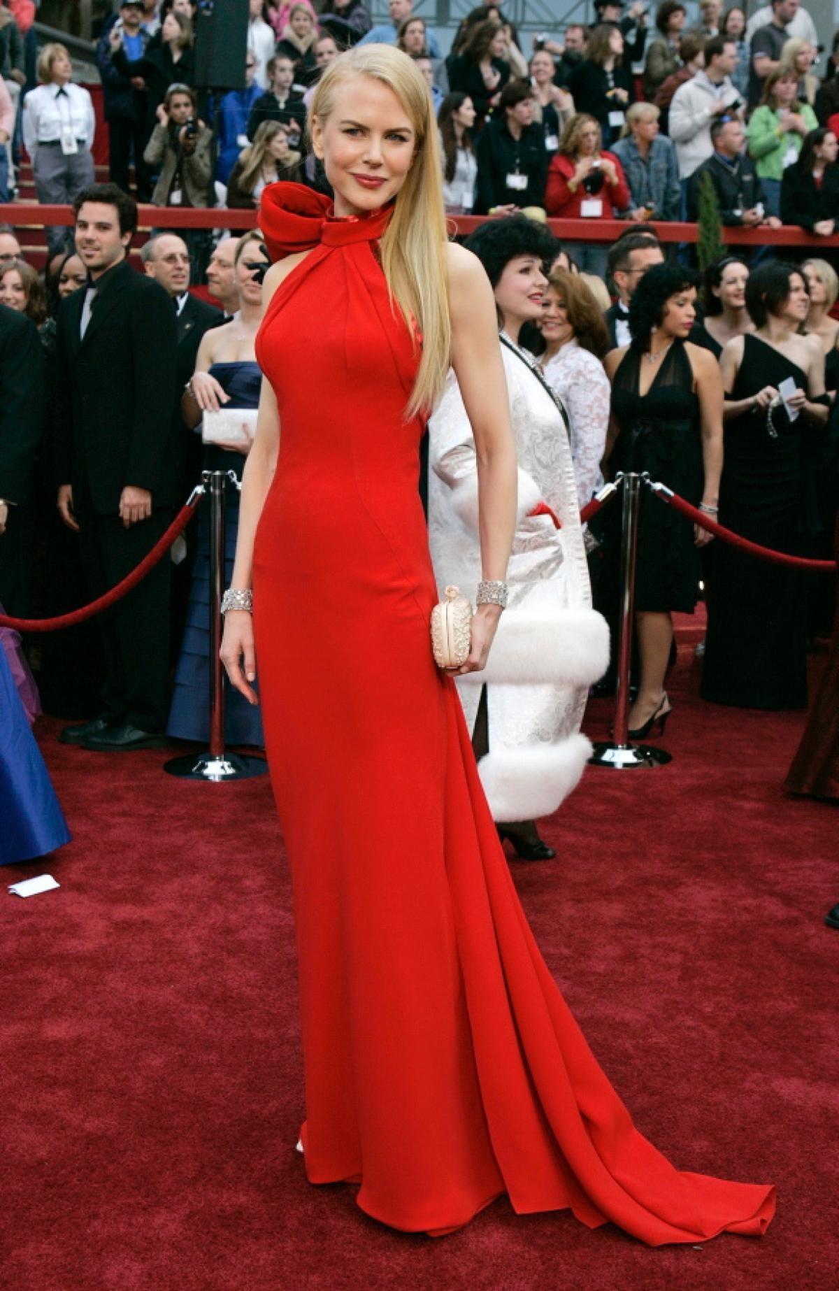 Nicole Kidman vestida por Balenciaga, 2007.
